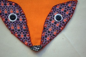 DIY: Felt Fox Appliqué