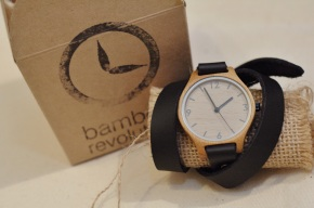 Bamboo Timepiece