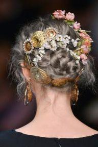 dolce and gabbana ss14 hair